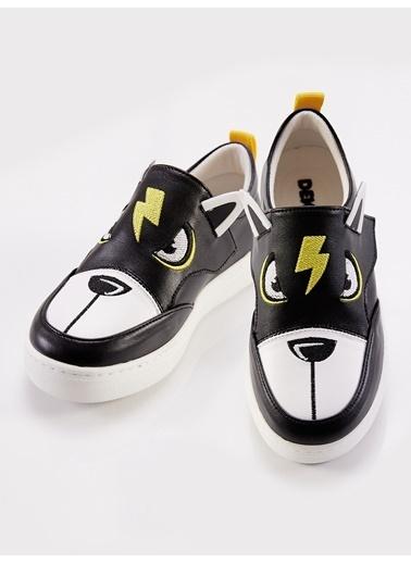 Denokids Şimşek Siyah Erkek Sneakers Siyah